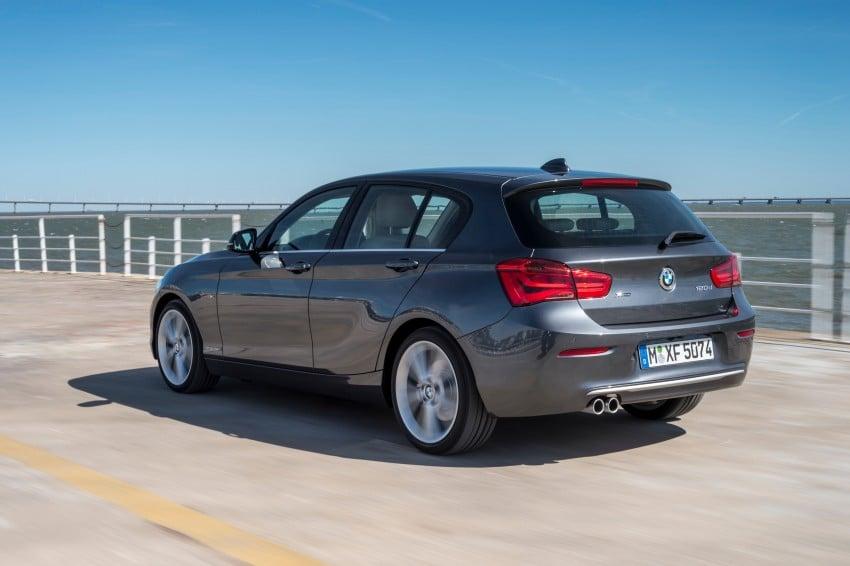 DRIVEN: BMW 1 Series facelift in Lisbon – 120d, M135i Image #349020