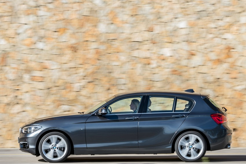 DRIVEN: BMW 1 Series facelift in Lisbon – 120d, M135i Image #349021