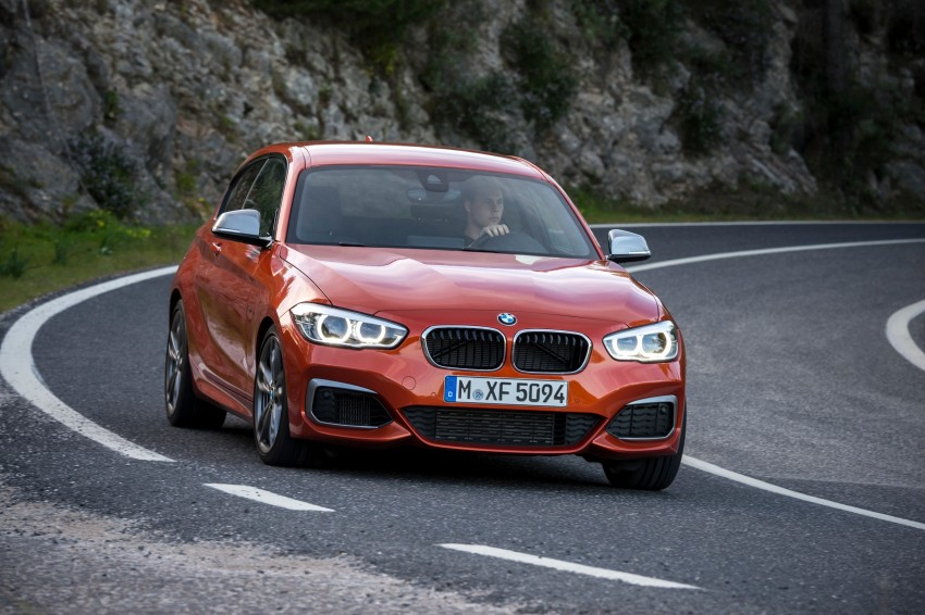 DRIVEN: BMW 1 Series facelift in Lisbon – 120d, M135i Image #349023