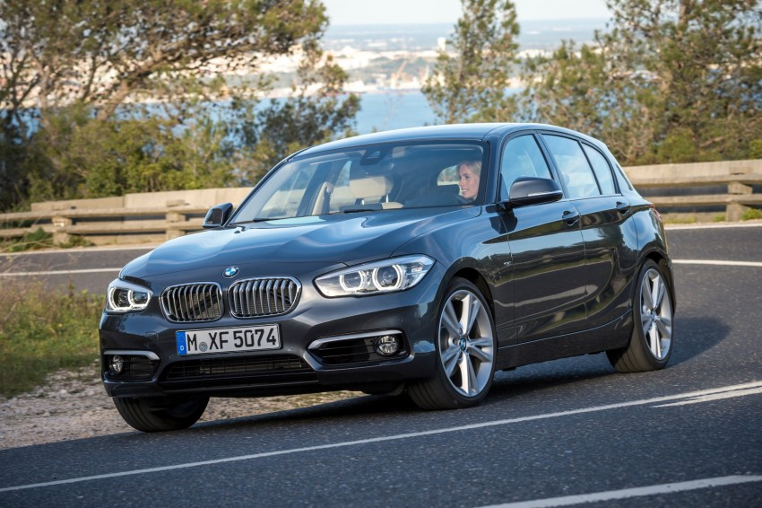DRIVEN: BMW 1 Series facelift in Lisbon – 120d, M135i Image #349024