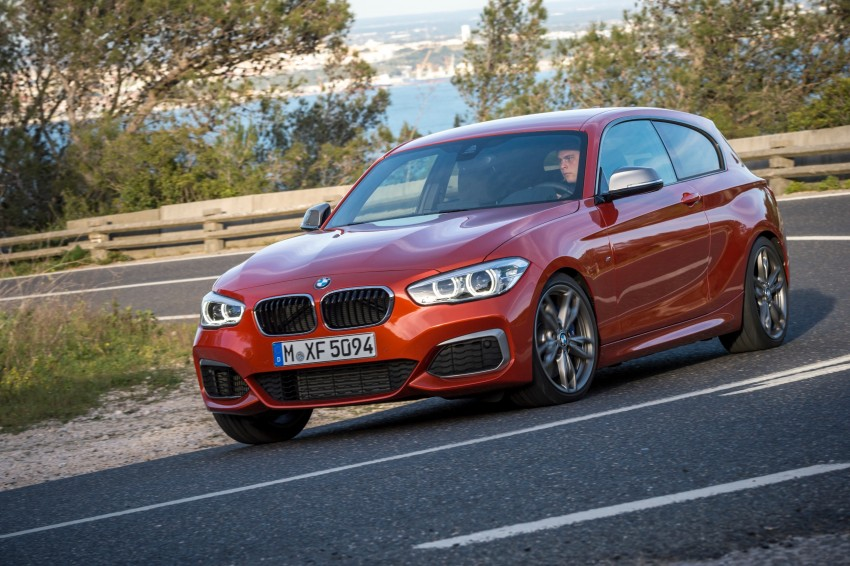 DRIVEN: BMW 1 Series facelift in Lisbon – 120d, M135i Image #349025