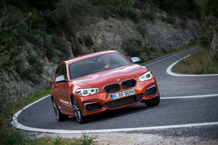 DRIVEN: BMW 1 Series facelift in Lisbon – 120d, M135i Image #349026
