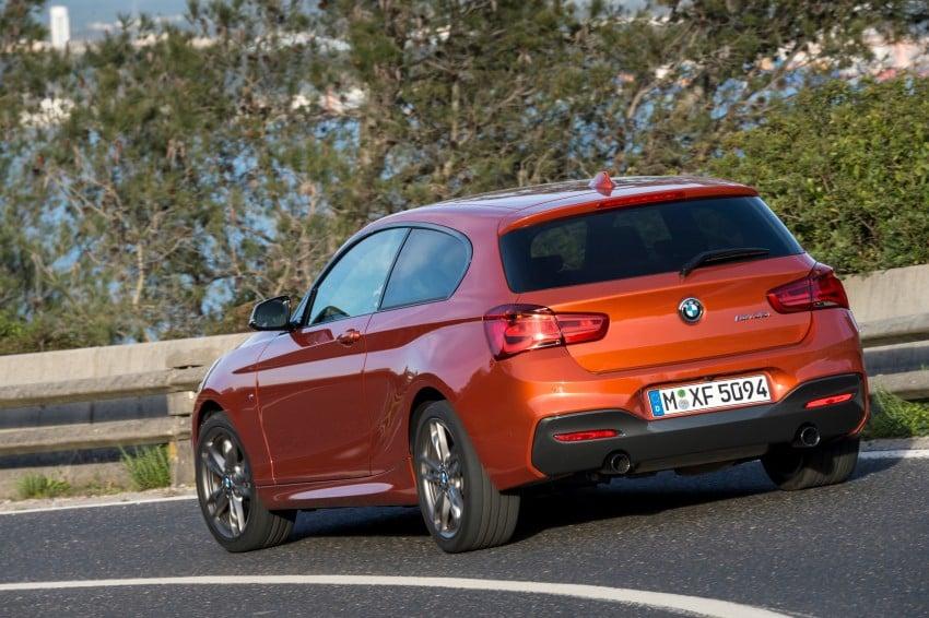 DRIVEN: BMW 1 Series facelift in Lisbon – 120d, M135i Image #349027