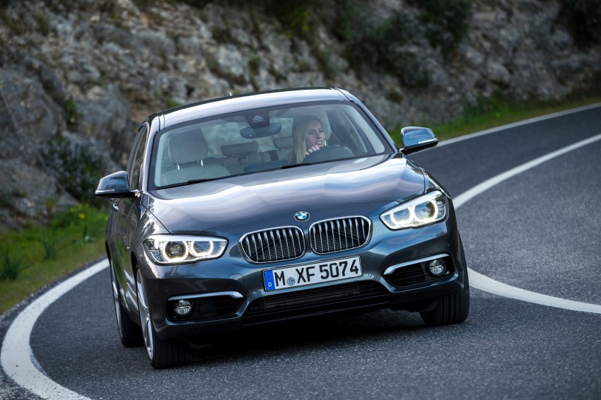 DRIVEN: BMW 1 Series facelift in Lisbon – 120d, M135i Image #349028