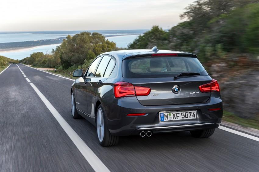 DRIVEN: BMW 1 Series facelift in Lisbon – 120d, M135i Image #349029