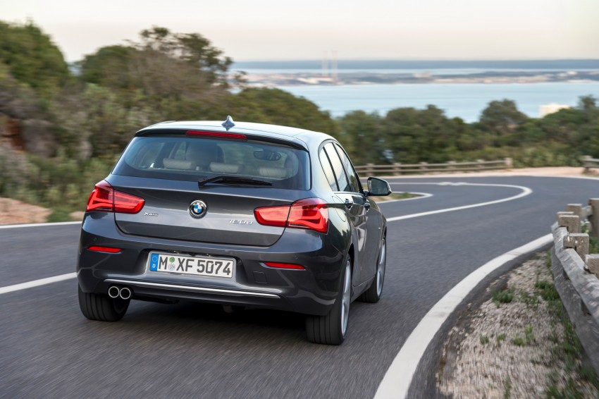 DRIVEN: BMW 1 Series facelift in Lisbon – 120d, M135i Image #349030