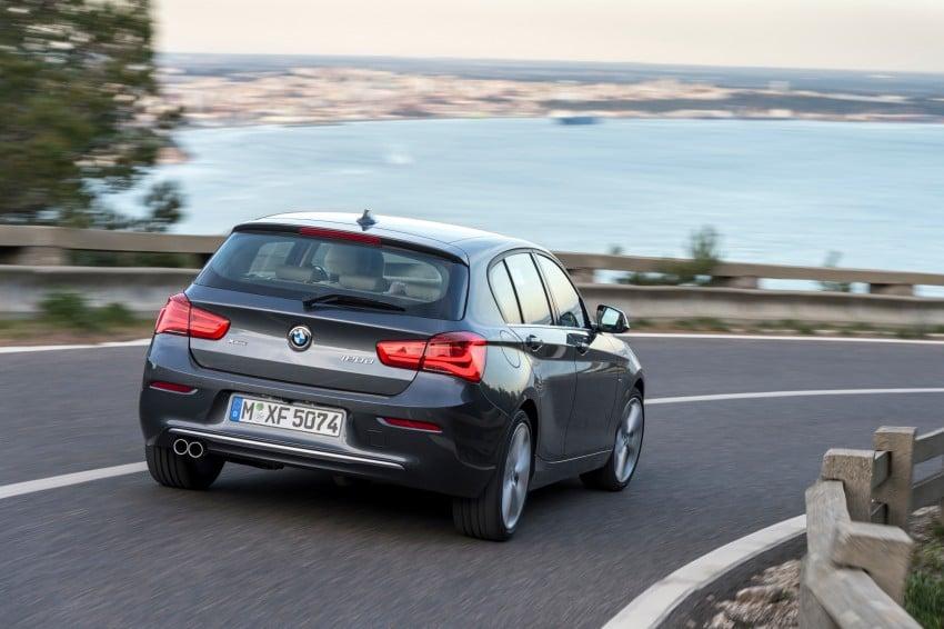 DRIVEN: BMW 1 Series facelift in Lisbon – 120d, M135i Image #349031