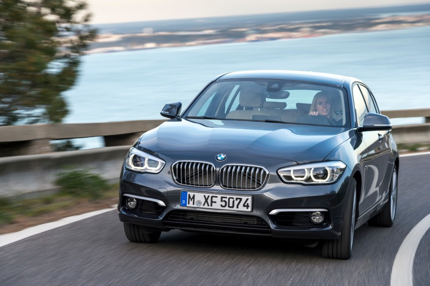 DRIVEN: BMW 1 Series facelift in Lisbon – 120d, M135i Image #349032