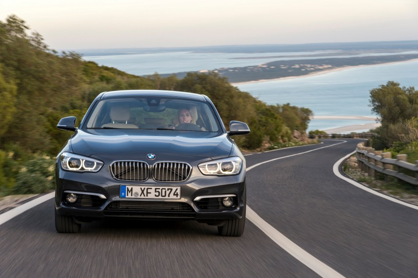 DRIVEN: BMW 1 Series facelift in Lisbon – 120d, M135i Image #349033