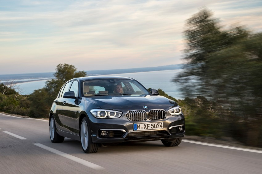 DRIVEN: BMW 1 Series facelift in Lisbon – 120d, M135i Image #349034