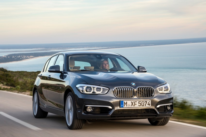 DRIVEN: BMW 1 Series facelift in Lisbon – 120d, M135i Image #349035