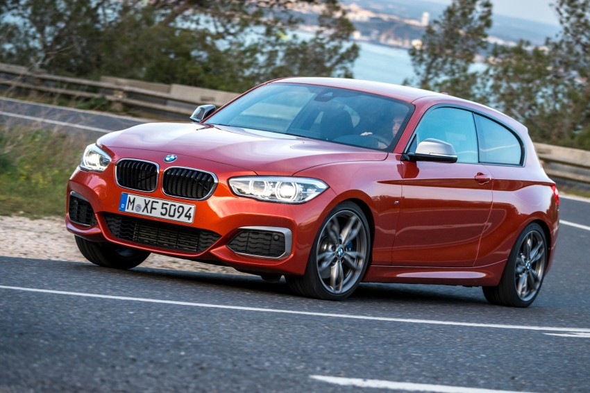 DRIVEN: BMW 1 Series facelift in Lisbon – 120d, M135i Image #349036