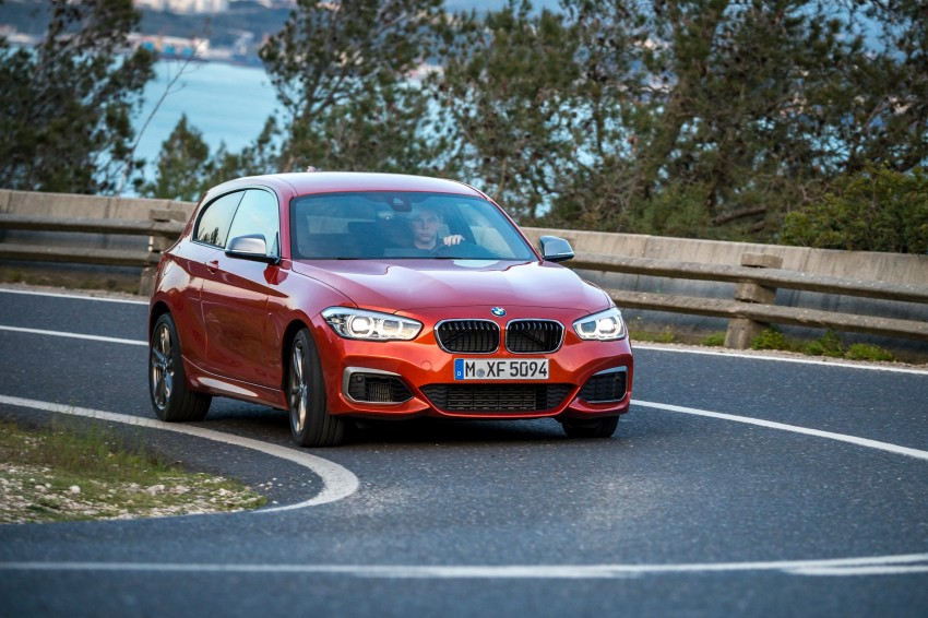 DRIVEN: BMW 1 Series facelift in Lisbon – 120d, M135i Image #349037