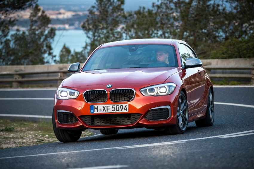 DRIVEN: BMW 1 Series facelift in Lisbon – 120d, M135i Image #349038