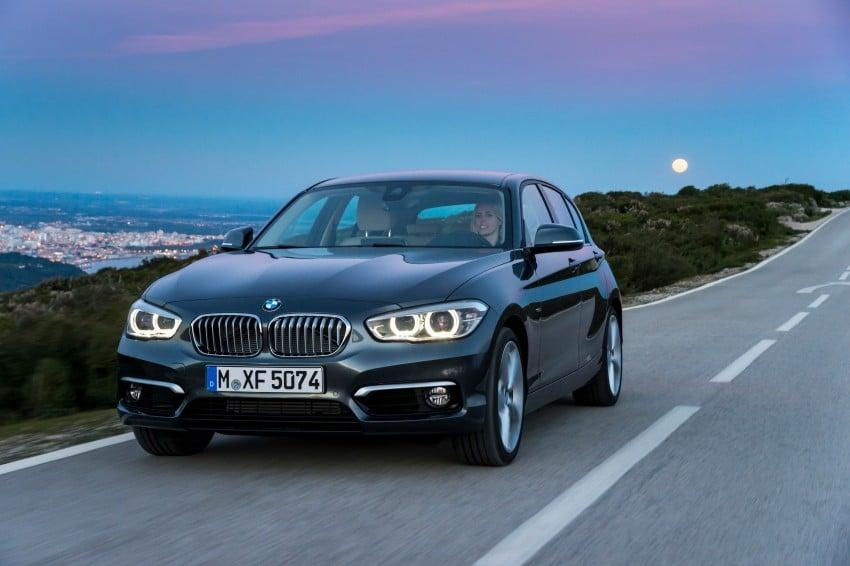 DRIVEN: BMW 1 Series facelift in Lisbon – 120d, M135i Image #349039