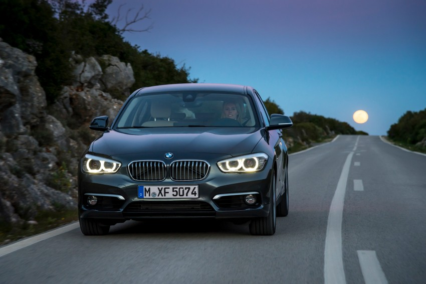 DRIVEN: BMW 1 Series facelift in Lisbon – 120d, M135i Image #349041
