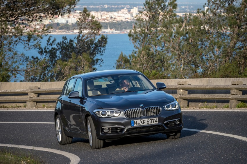 DRIVEN: BMW 1 Series facelift in Lisbon – 120d, M135i Image #349043