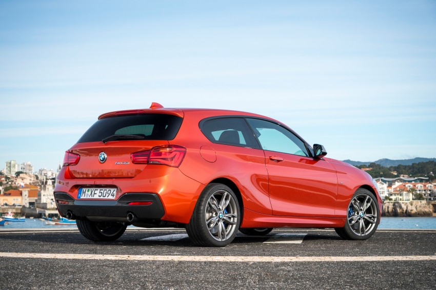 DRIVEN: BMW 1 Series facelift in Lisbon – 120d, M135i Image #349046