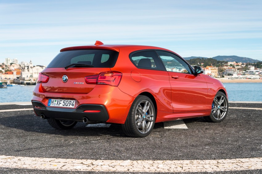 DRIVEN: BMW 1 Series facelift in Lisbon – 120d, M135i Image #349048
