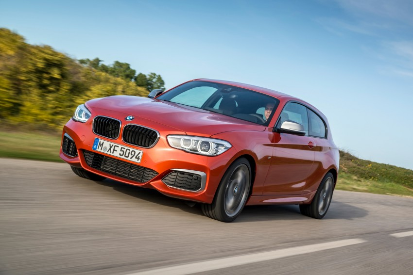 DRIVEN: BMW 1 Series facelift in Lisbon – 120d, M135i Image #349049