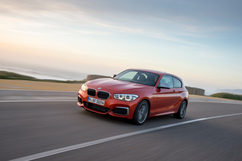 DRIVEN: BMW 1 Series facelift in Lisbon – 120d, M135i Image #349050