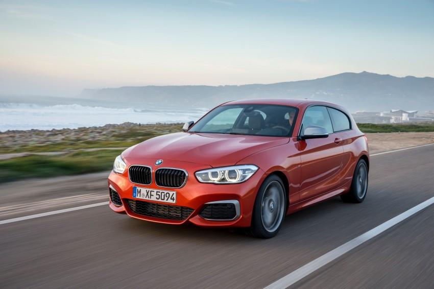 DRIVEN: BMW 1 Series facelift in Lisbon – 120d, M135i Image #349051