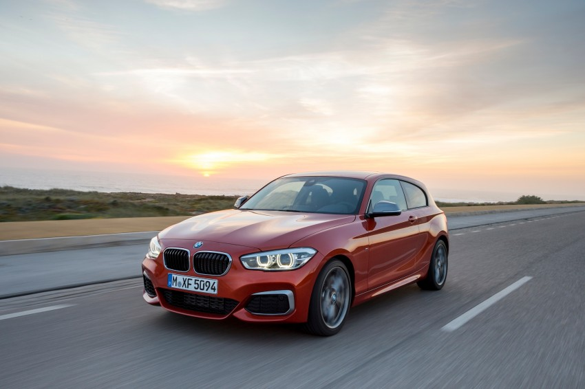 DRIVEN: BMW 1 Series facelift in Lisbon – 120d, M135i Image #349052