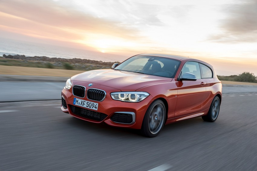 DRIVEN: BMW 1 Series facelift in Lisbon – 120d, M135i Image #349053