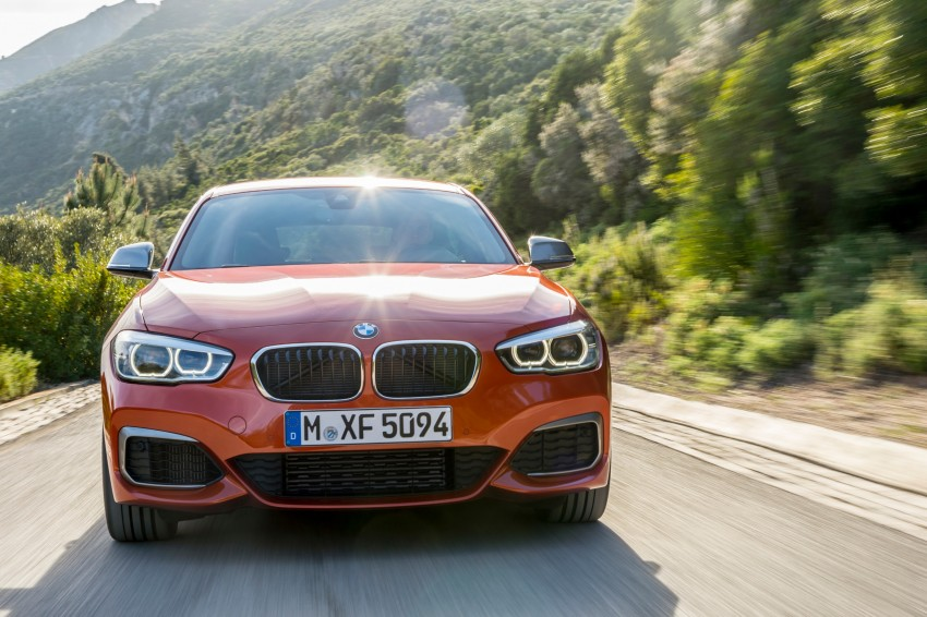 DRIVEN: BMW 1 Series facelift in Lisbon – 120d, M135i Image #349054