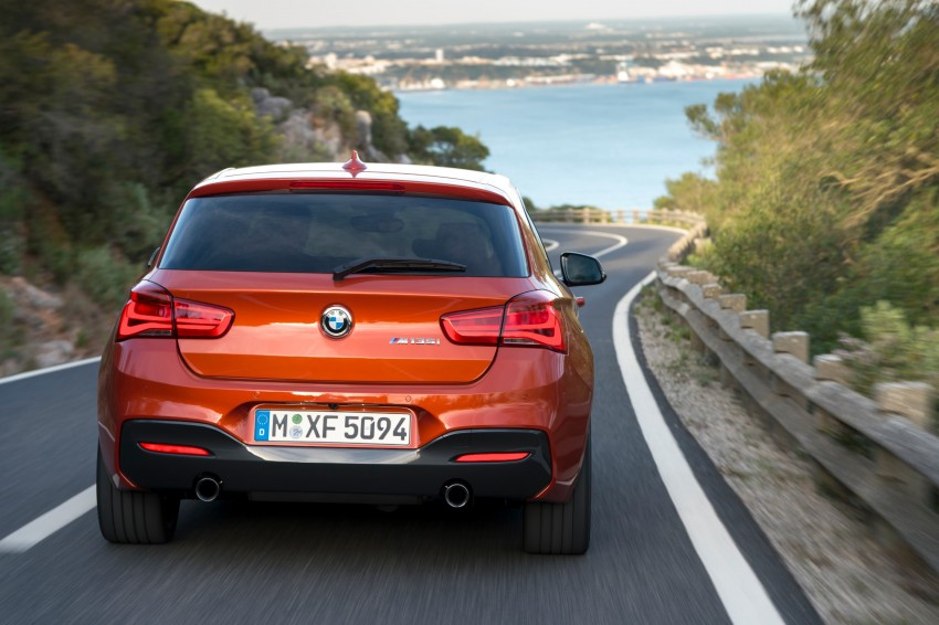 DRIVEN: BMW 1 Series facelift in Lisbon – 120d, M135i Image #349056