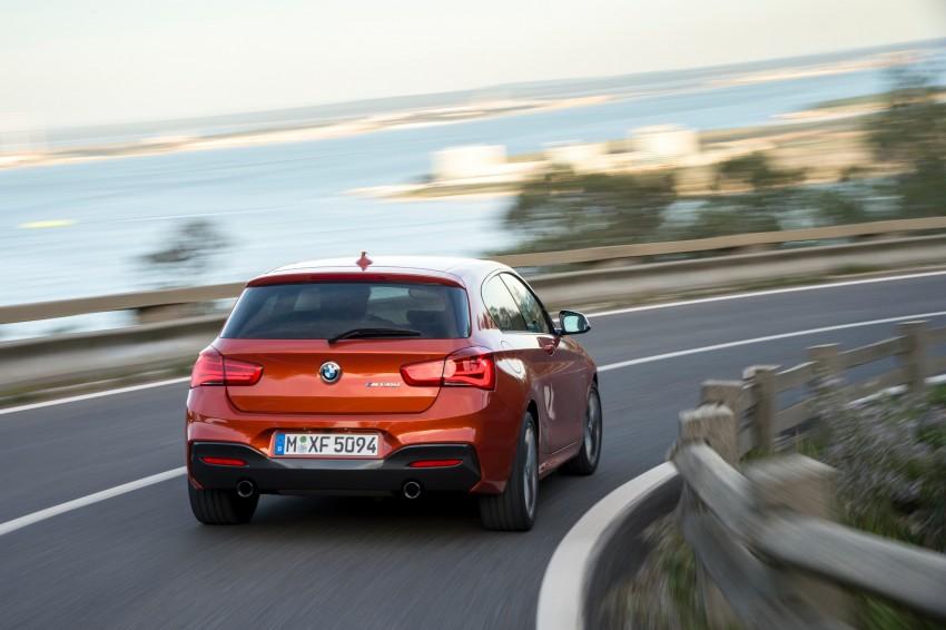 DRIVEN: BMW 1 Series facelift in Lisbon – 120d, M135i Image #349057