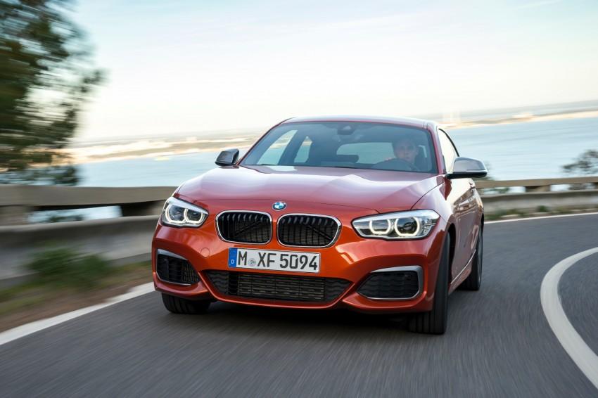 DRIVEN: BMW 1 Series facelift in Lisbon – 120d, M135i Image #349058