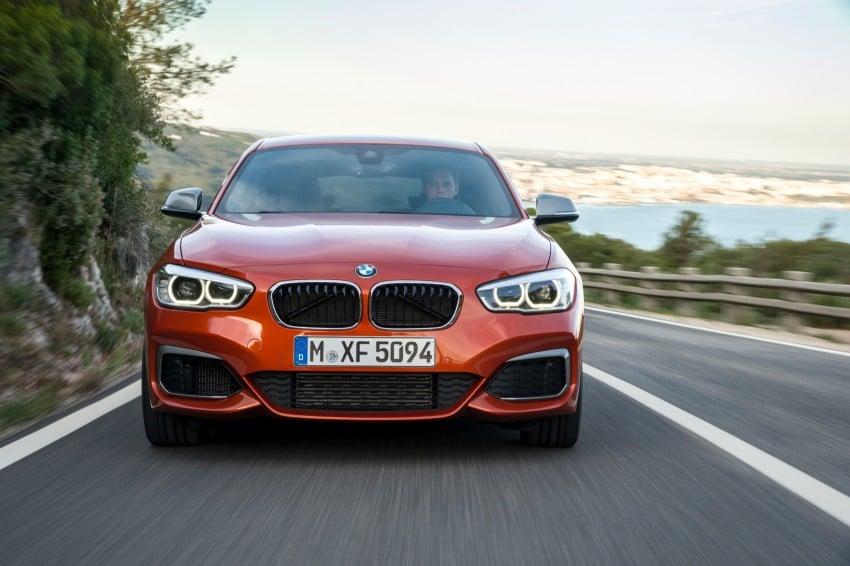 DRIVEN: BMW 1 Series facelift in Lisbon – 120d, M135i Image #349059