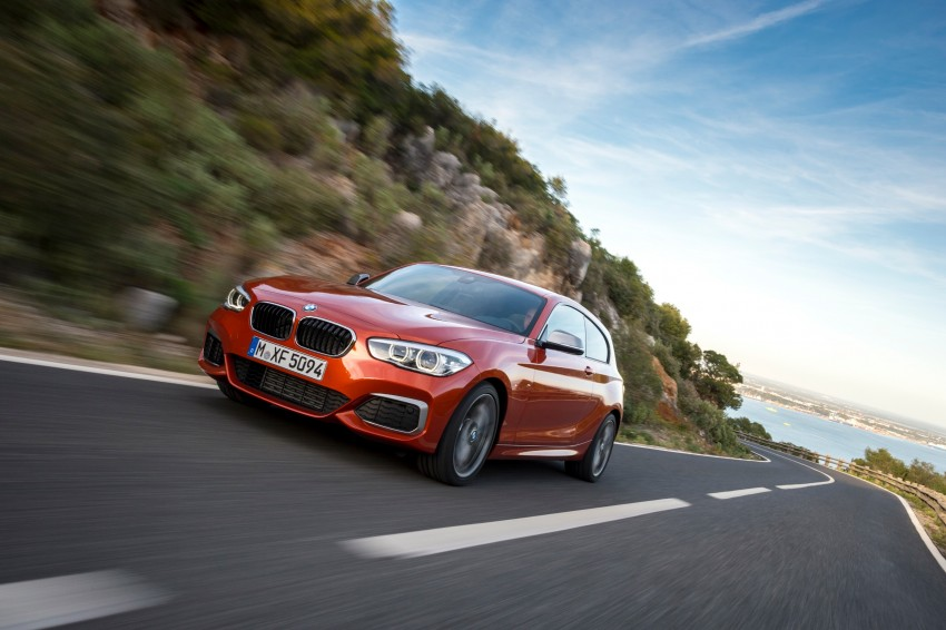 DRIVEN: BMW 1 Series facelift in Lisbon – 120d, M135i Image #349060