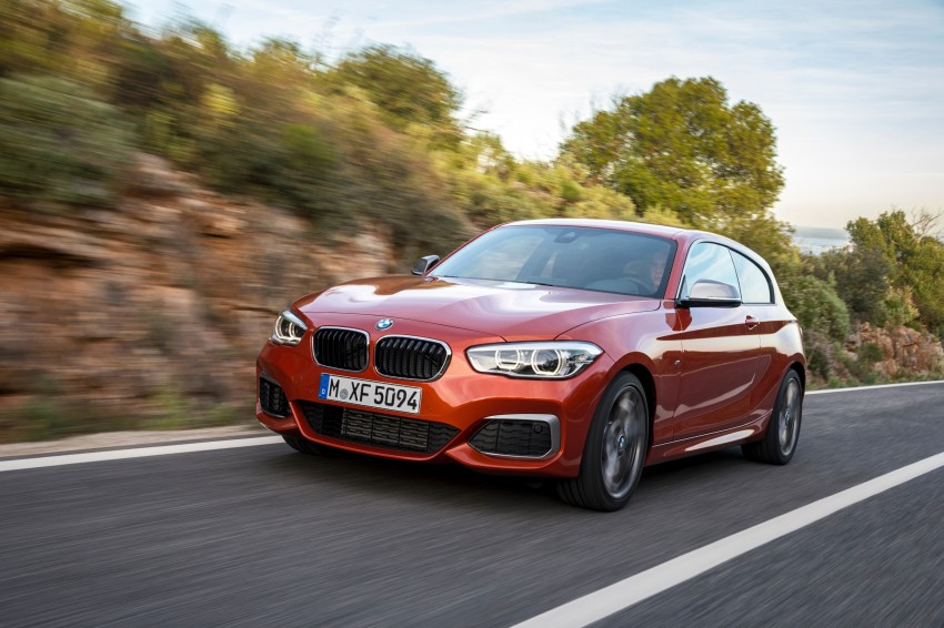 DRIVEN: BMW 1 Series facelift in Lisbon – 120d, M135i Image #349061