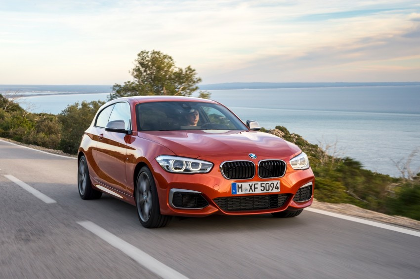 DRIVEN: BMW 1 Series facelift in Lisbon – 120d, M135i Image #349062
