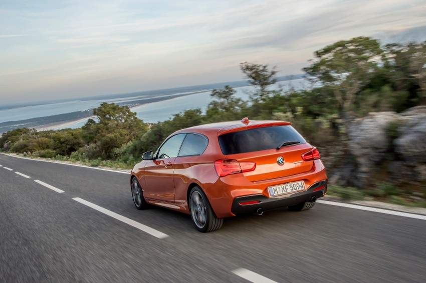 DRIVEN: BMW 1 Series facelift in Lisbon – 120d, M135i Image #349063