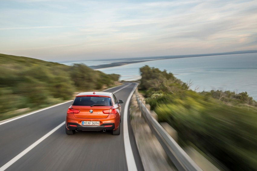 DRIVEN: BMW 1 Series facelift in Lisbon – 120d, M135i Image #349064