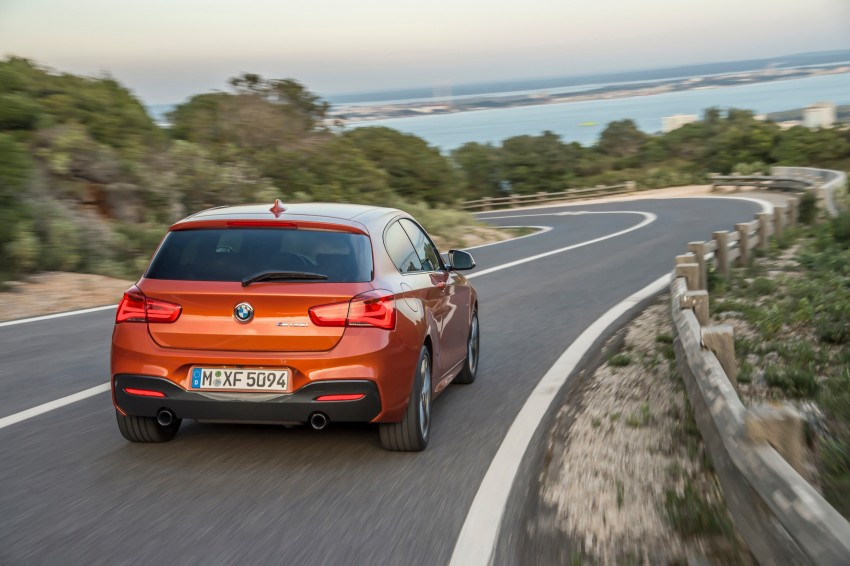 DRIVEN: BMW 1 Series facelift in Lisbon – 120d, M135i Image #349065
