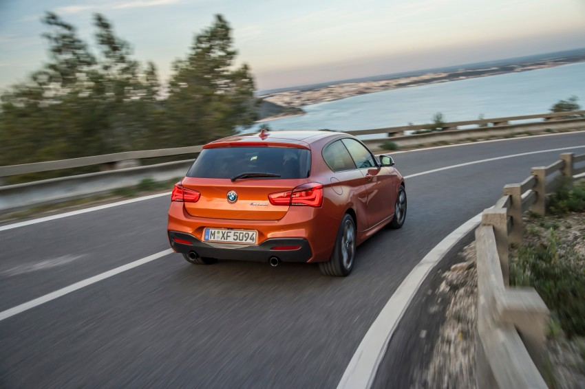 DRIVEN: BMW 1 Series facelift in Lisbon – 120d, M135i Image #349066