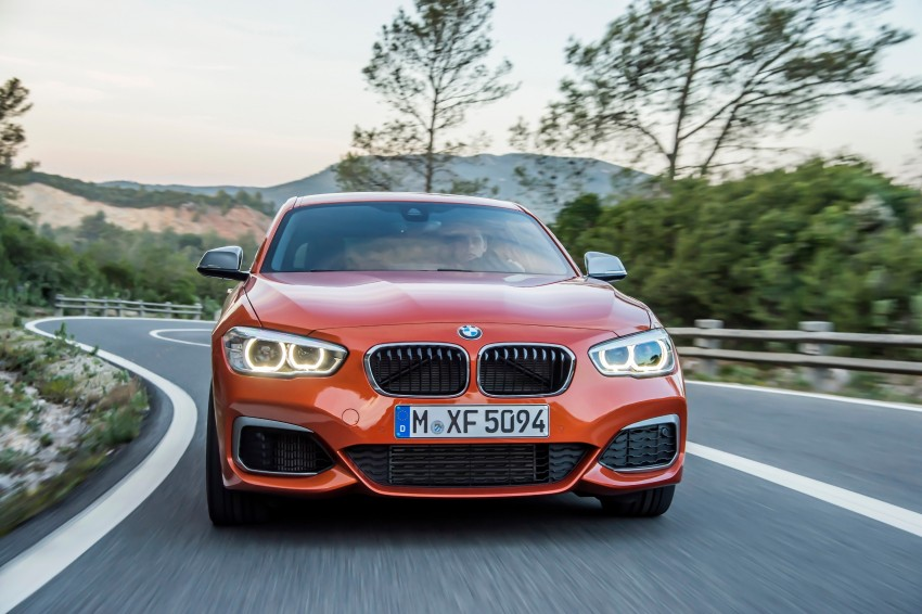 DRIVEN: BMW 1 Series facelift in Lisbon – 120d, M135i Image #349067