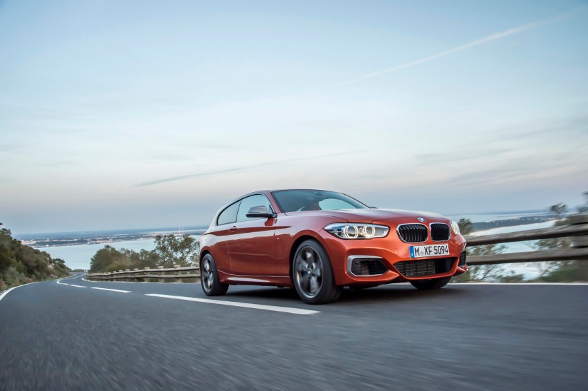 DRIVEN: BMW 1 Series facelift in Lisbon – 120d, M135i Image #349068