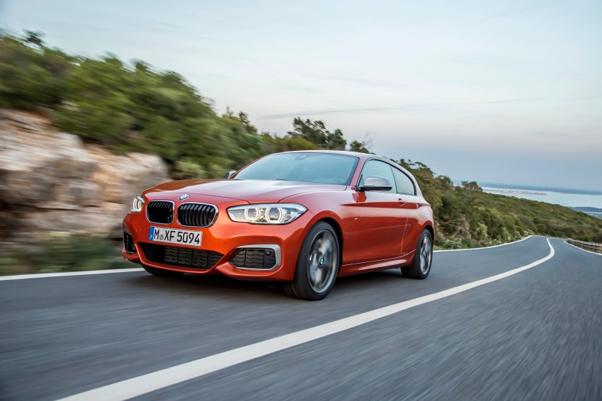 DRIVEN: BMW 1 Series facelift in Lisbon – 120d, M135i Image #349069