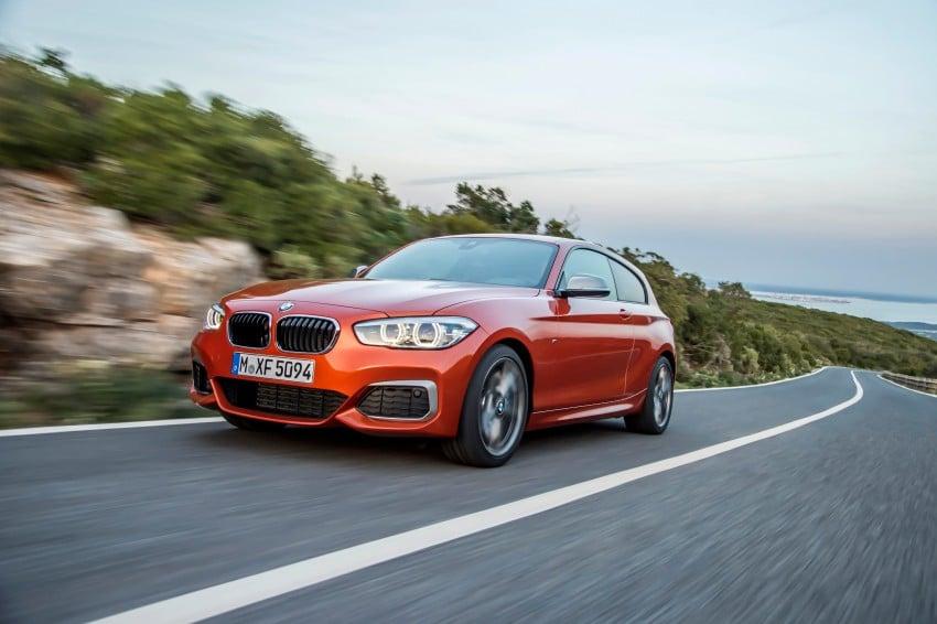 DRIVEN: BMW 1 Series facelift in Lisbon – 120d, M135i Image #349069