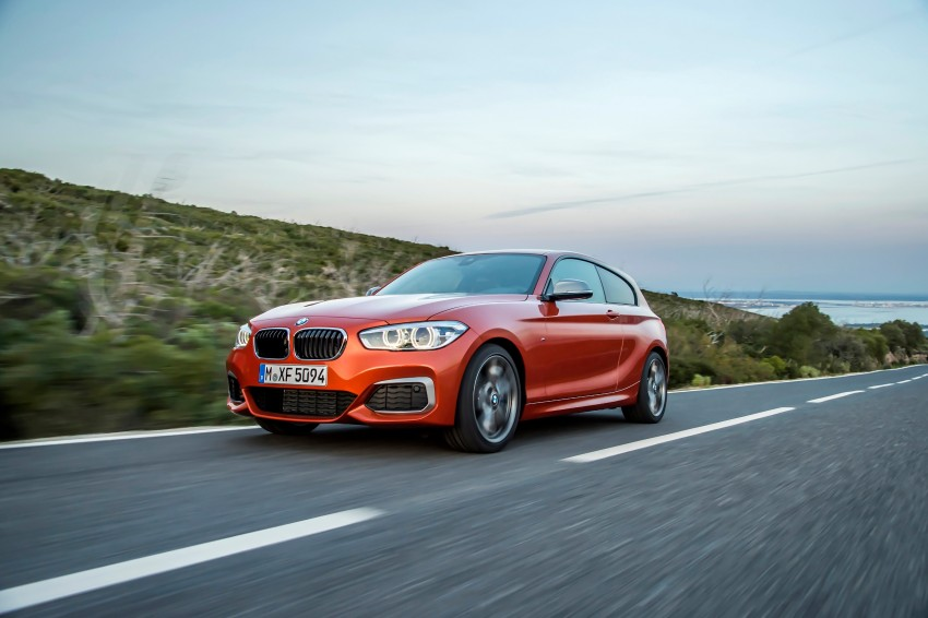 DRIVEN: BMW 1 Series facelift in Lisbon – 120d, M135i Image #349070