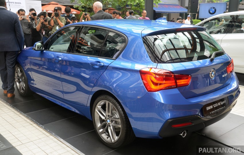 BMW 1 Series facelift launched – 120i M Sport, RM220k Image #349680