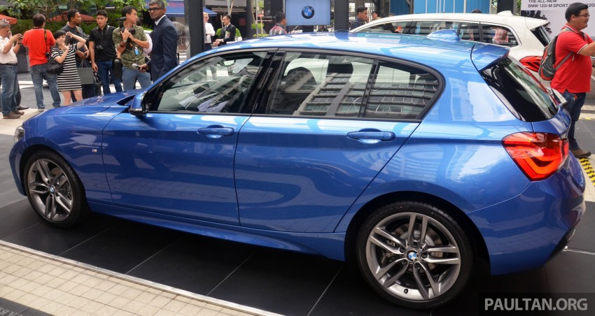 BMW 1 Series facelift launched – 120i M Sport, RM220k Image #349684