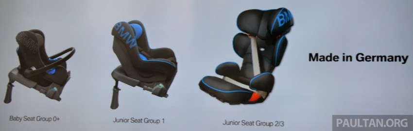 BMW Child Seats available at RM1,799-1,999 promo Image #349842