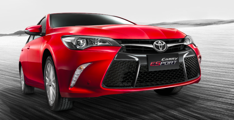 toyota camry esport launched in thailand sportier new variant with aggressi. Black Bedroom Furniture Sets. Home Design Ideas