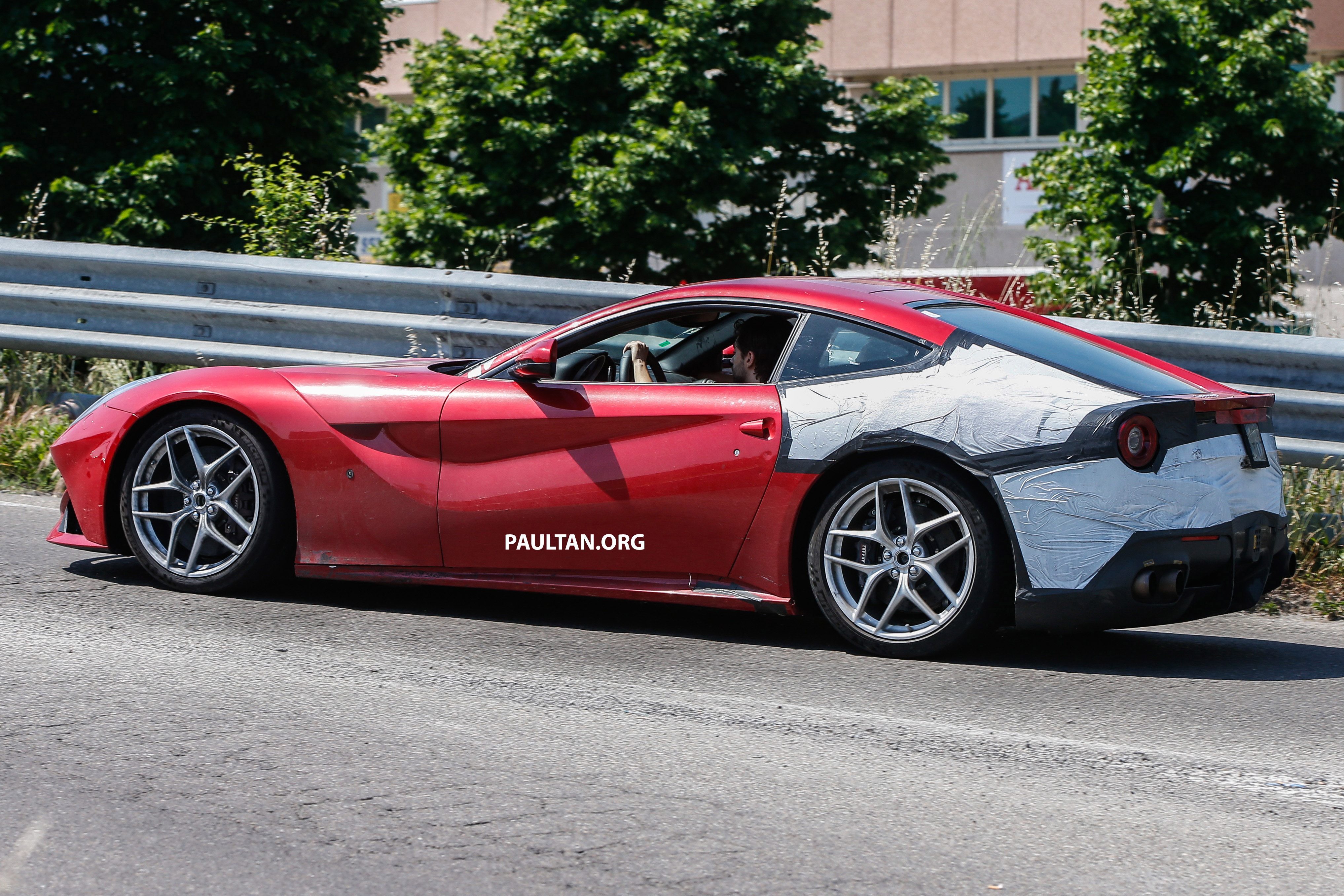 Spied Ferrari F12 M Goes Testing More Than 750 Hp Paul Tan